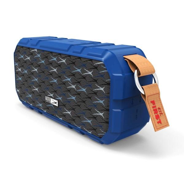 ALTEC LANSING φορητό ηχείο X-Wild 10W, αδιάβροχο, power bank, μπλε