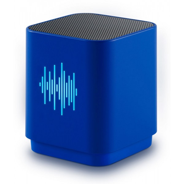 BIGBEN Φορητό ηχείο BT19EQ, bluetooth, 9W, LED, μπλε