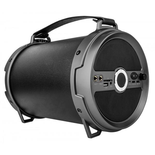 KRUGER&MATZ φορητό ηχείο KM0529XXL, 18W RMS, 1800 mAh, BT/SD, μαύρο