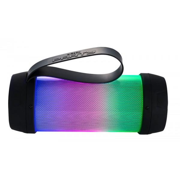 BIGBEN Φορητό ηχείο PARTYBTMINI, Βluetooth/USB/3.5mm, LED, 1200mAh