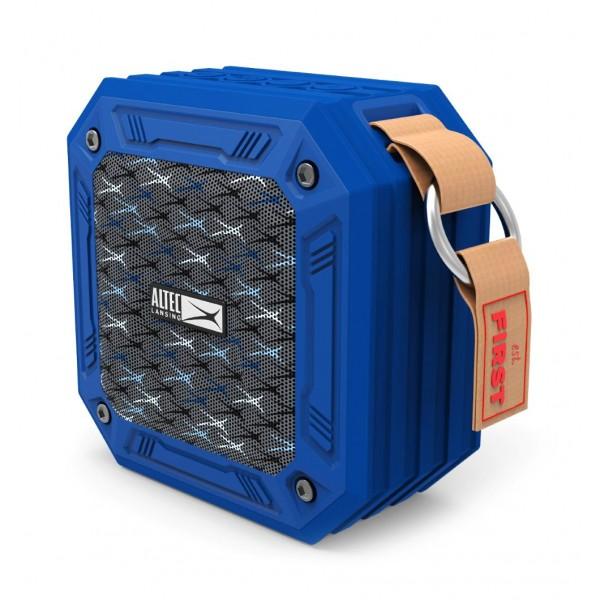 ALTEC LANSING φορητό ηχείο Wild, αδιάβροχο IP67/αντικραδασμικό, BT, μπλε