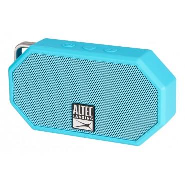 ALTEC LANSING φορητό ηχείο Mini H2O, IP67, με γάντζο, γαλάζιο
