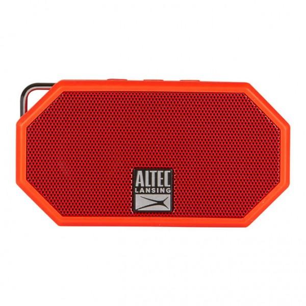ALTEC LANSING φορητό ηχείο Mini H2O, IP67, με γάντζο, κόκκινο