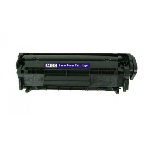 HT Συμβατό Toner για HP, Q2612X, Black, 3K
