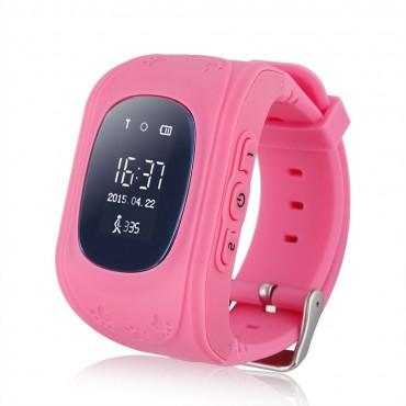 INTIME GPS Παιδικό ρολόι χειρός IT-026, SOS, βηματομετρητής, ροζ