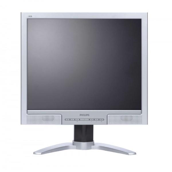 """PHILIPS used Οθόνη 190B8 LCD, 19"""" 1280x1024, VGA/DVI-D, FQ"""
