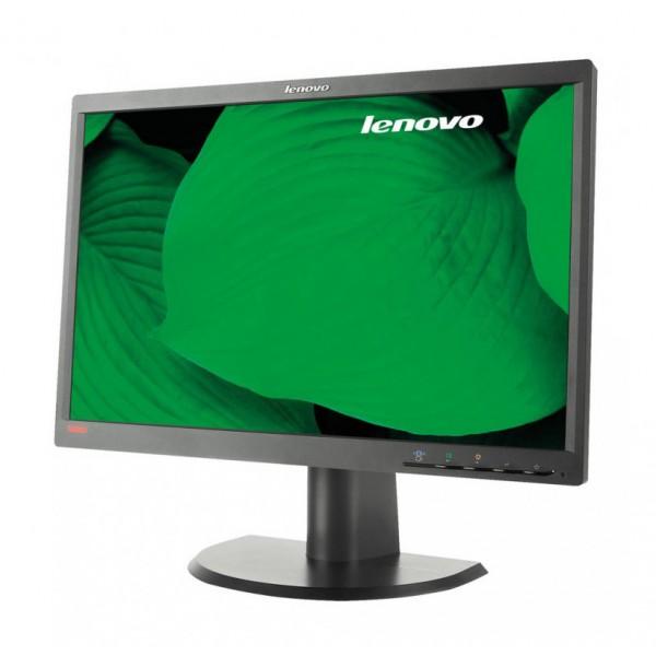 "LENOVO used Οθόνη LT2252P, 22"" 1680 x 1050, DVI-D/VGA/Display port, SQ"