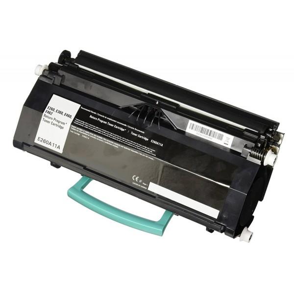Συμβατό Toner για LEXMARK, E460/E462, 15K, Black