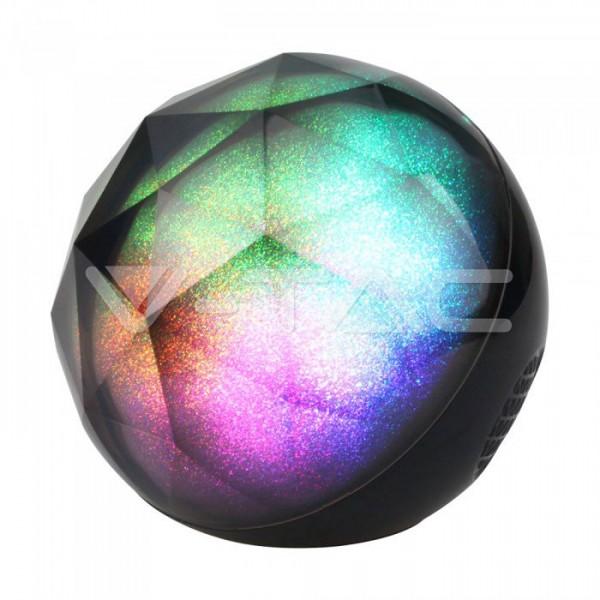 Φορητό ηχείο-φωτιστικό μπάλα